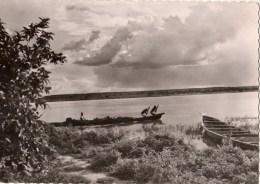 C P M-C P S M---AFRIQUE---NIGER---NIAMEY---un Soir Sur Le Niger---voir 2 Scans - Niger