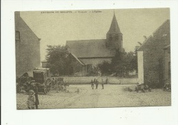Glabais Eglise ( Carte Publicitaire Campagne électorale Voir Dos ) - Genappe