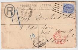 Malta, 1894, Registered To London   # 1502 - Malta