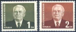 Alemania DDR 0078/79 * Foto Estandar. 1953. Charnela - DDR