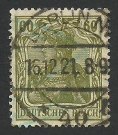 Germany, 60 Pf. 1920, Sc # 126, Mi # 147, Used, Berlin. - Germany