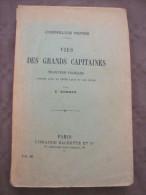 1913 VIES DES GRANDS CAPITAINES SOMMER CORNELIUS NEPOS MILTIADE CIMON DATAME ANNIBAL ATTICUS AMILCAR ROME GRECE CARTHAGE - 1901-1940
