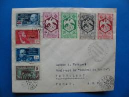 Enveloppe  TCHAD-TCHAD  26 AOÜT 1944 - A.E.F. (1936-1958)