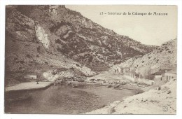 CPA - MARSEILLE, INTERIEUR DE LA CALANQUE DE MORGIOU - Bouches Du Rhône 13 - Marseilles