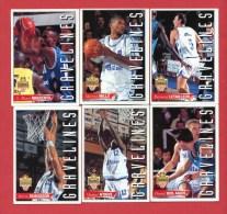 Gravelines - Basket - 6 Cartes  - Panini - LNB 94/95 - Sport