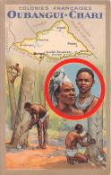 ¤¤  -  Colonies Françaises  -  OUBANGUI-CHARI  -  Carte Publicitaire Des Produits Du Lion Noir  -  ¤¤ - Postcards
