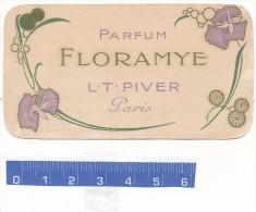 Carte Parfumée - Floramye, L.T. Piver - Vintage (until 1960)
