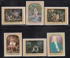 Mauritius MNH Scott #333-#338 Set Of 6 Paintings - 200th Ann Visit Of Bernardin De St. Pierre - Maurice (1968-...)