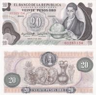 Colombia - 20 Pesos 1983 UNC Lemberg-Zp - Colombie