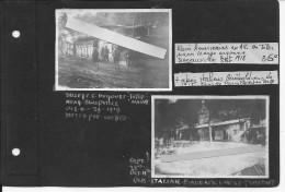 Oct.1918 Toter Mann Argonne Four De Paris Abris Des Soldats Us 1ère Inf.Div. Big Red One Et Italiens Garibaldiens 2 Vues - Guerre, Militaire