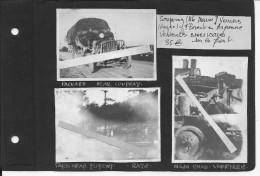 1918 Haute Marne Coupray Verrières Florent En Argonne Véhicules Us Sur Le Front 1ère Inf.Div Big Red One 3 Vues Ww1 Wk1 - War, Military