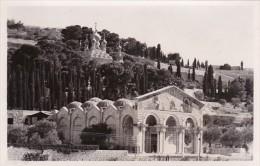 Jordan Jerusalem Church Of Gethsemane Real Photo - Jordan