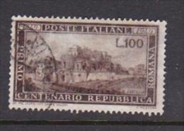 Italy 1949 Centenary Of Roman Republic Used - 6. 1946-.. Republic