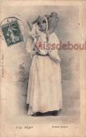 ALGER - Femme Kabyle - En L'état : Déchirure - 2 SCANS - Algiers