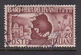 Italy 1950 Bari Fair Used - 6. 1946-.. Republic