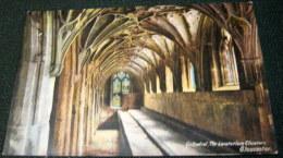 England Cathedral The Lavatorium Cloisters Gloucester - Unused - Gloucester