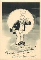 André Daix - Illustrateur - ** Professeur Nimbus** - Cpa édit; N° 6 - Voir 2 Scans. - Illustrateurs & Photographes