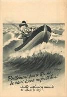 André Daix - Illustrateur - ** Professeur Nimbus** - Cpa édit; N° 3 - Voir 2 Scans. - Illustrateurs & Photographes