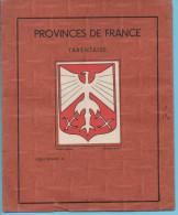 """Protège Cahier Série """"provinces De France"""" Modèle Déposé Fernand LANORE - Protège-cahiers"""