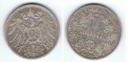 ALEMANIA DEUTSCHES REICH MARK 1896 A PLATA SILBER - 1 Mark