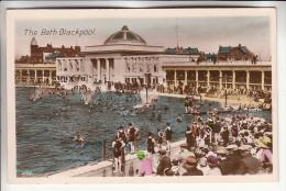 ENGLAND Royaume Uni - BLACKPOOL : The Bath - CPSM Photo Colorisée PF - - Blackpool
