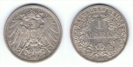ALEMANIA DEUTSCHES REICH MARK 1901 A PLATA SILBER - 1 Mark