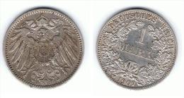 ALEMANIA DEUTSCHES REICH MARK 1907 A PLATA SILBER.png C - [ 2] 1871-1918: Deutsches Kaiserreich
