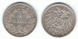 ALEMANIA DEUTSCHES REICH MARK 1908 A PLATA SILBER. - 1 Mark