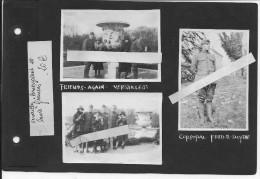 1919 Versailles Soldats Us Caporal Fred B.smythe De La 1ère Inf.Div Big Red One Et Leurs Fiancées En Promenade 3vues Ww1 - War, Military