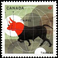 Canada - Scott #2451  Signs Of The Zodiac, Taurus (*) / Used Stamp - Astrology