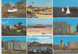 19412- BLANKENBERGE- SEA RESORT, PANORAMA, BEACH, PROMENADE, SQUARE, PIER, HARBOUR, SHIPS - Blankenberge