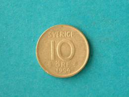 1954 TS - 10 ORE / KM 823 ( For Grade, Please See Photo ) ! - Suède