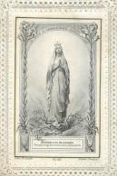 IMAGES RELIGIEUSES   Dévotion à Nd De Lourdes Par Ch Letaille   2 Scans - Imágenes Religiosas