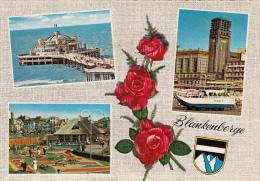 19415- BLANKENBERGE- SEA RESORT, PIER, SHIP, PARK, PROMENADE - Blankenberge