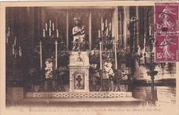 Fraance Fougeres Interieure de la Chapelle de Notre-Dame-des-Mar