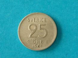 25 ORE 1961 / KM 824 - ( For Grade, Please See Photo ) ! - Suède