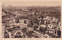 Fraance Fougeres Vue d'ensemble sur la Basse Ville 1919