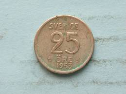 1953 TS - 25 ORE / KM 824 ( Uncleaned - For Grade, Please See Photo ) ! - Suède