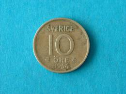 1954 TS - 10 ORE / KM 823 ( For Grade , Please See Photo ) ! - Suède