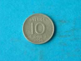 1954 TS - 10 ORE / KM 823 ( For Grade, Please See Photo ) !! - Suède