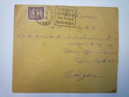 Enveloppe  Au Départ De  PNOM-PENH  à Destination De  SAÏGON   1933 - Kambodscha