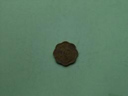 1944 - 10 Cents / KM 118 ( For Grade, Please See Photo ) !! - Sri Lanka