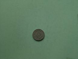 1955 - 10 ORE / KM 841.1 ( For Grade, Please See Photo ) !! - Denmark