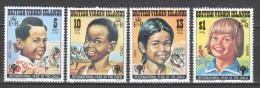 British Virgin Islands 1979 Mi 358-361 MNH CHILDREN - Britse Maagdeneilanden