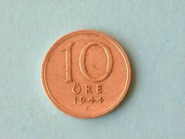 1944 G - 10 ORE / KM 813 ( For Grade, Please See Photo ) ! - Schweden