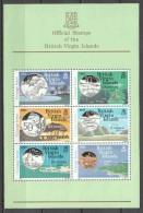 British Virgin Islands 1985 Mi Block 23 MNH COINS - Britse Maagdeneilanden