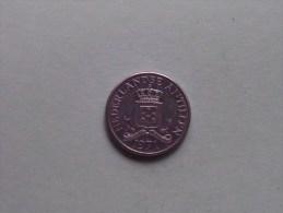 1971 - 25 Cent / KM 11 ( Uncleaned - For Grade, Please See Photo ) ! - Antilles Neérlandaises