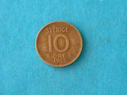 1953 TS - 10 ORE / KM 823 ( For Grade, Please See Photo ) ! - Suède