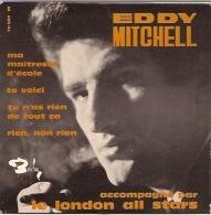 Eddy Mitchell 45t. EP *ma Maitresse D'école* 1° Pochette - Vinyles