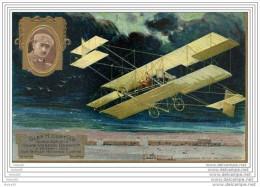GLEN  H CURTISS ,,,VAIQUEUR De La  COUPE GORDON  BENNET,,,1909,,, BIPLAN  CURTISS,, Pub  LEFEVRE UTILE,,,,TBE,,, - Aviadores